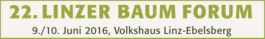 22. Linzer Baumforum Banner
