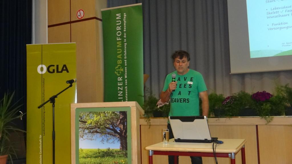 20. Linzer Baumforum Vortragender Vanicek Walter