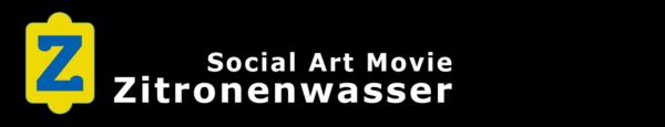 Logo und Schriftzug - Social Art Movie Zitronenwasser