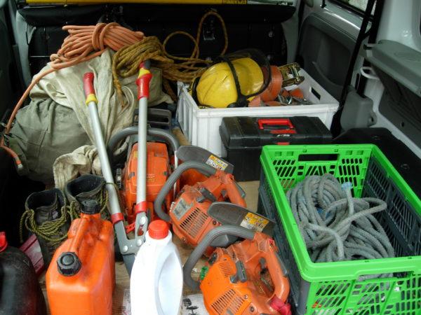 Werkzeug Baumpflege (c) G. Nikodem